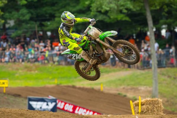Rookie Forkner landed on the overall podium for the first time in third. Photo credit: Simon Cudby.