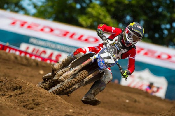 Webb earned his first ever 1-1 sweep at RedBud for his second straight win. Photo: Simon Cudby.