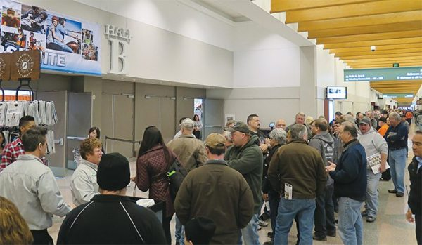 The Minneapolis stop of the IMS Tour drew an eager crowd at the Convention Center last winter.