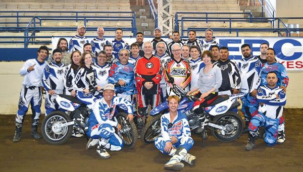 Thirty-one National Cycle employees were treated to a weekend of American Supercamp at the Illinois State Fairground Coliseum in Springfield.