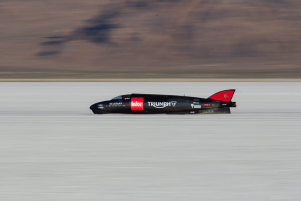 The world's fastest Triumph - the Triumph Infor Rocket     Streamliner[1]