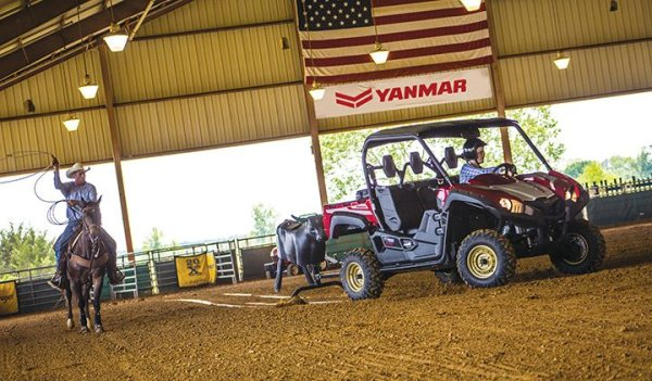 YANMAR has partnered with Yamaha on its Bull Series of UTVs.