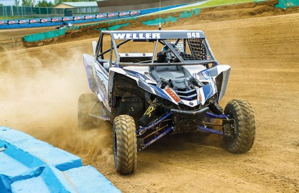 Corry Weller won the TORC Series Championship in the Yamaha YXZ1000R.