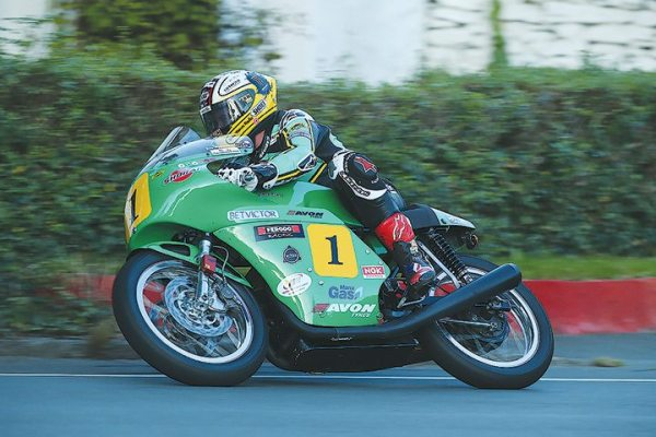 John McGuinness won the Isle of Man TT Senior race equipped with Avon Tyres.