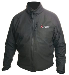 Powerlet's Atomic Skin line offers a heated jacket, pants, socks and gloves.