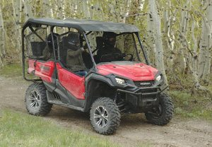 A hard roof has been the most popular accessory for the Honda Pioneer 1000-5 passenger.