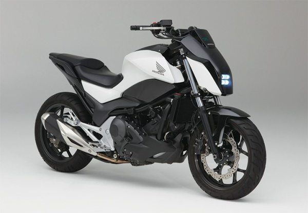 The Honda Riding Assist motorcycle is self-balancing by incorporating technology originally developed for the company's UNI-CUB personal mobility device.