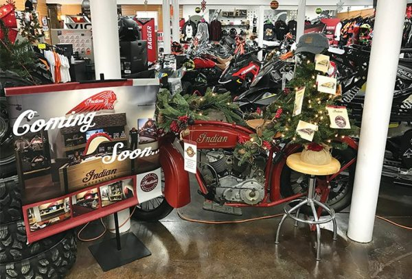 Maddie's Motor Sports sells mostly side-by-sides, ATVs and snowmobiles, but it looks to increase its motorcycle sales with Victory, Indian and KTM.
