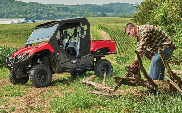 Yamaha introduced the Viking for the 2014 model year, replacing its longstanding Rhino in its utility side-by-side class.