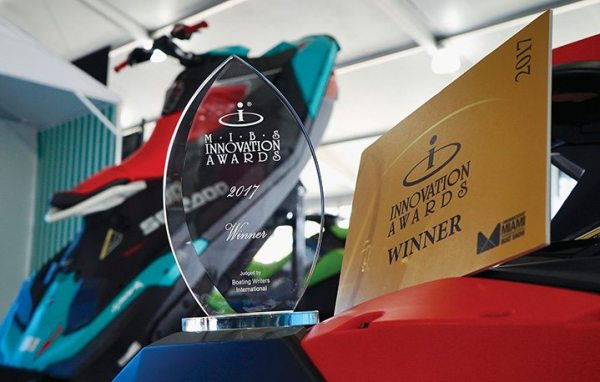The Sea-Doo Spark Trixx won an Innovation Award from the National Marine Manufacturers Association.