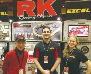 RK Excel was among those happy to see an enthusiastic dealer turnout the Tucker Rocky | Biker's Choice Dealer and Brand Expo.