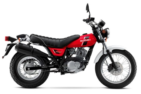 2018 suzuki tu250.  tu250 back with new red or black body work the 2018 suzuki vanvan includes a  stressfree pushbutton start and efi keeping everything in order 199cc  on suzuki tu250 k