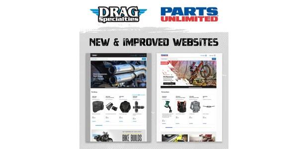 Parts Unlimited, Drag Specialties upgrade dealer websites