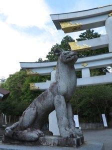 三峯神社 狛犬