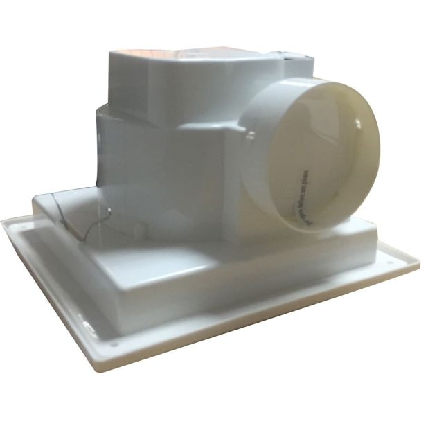 Ceiling Mounted Extractor Fan For Bathroom: Bathroom Ceiling Extractor Fans Uk