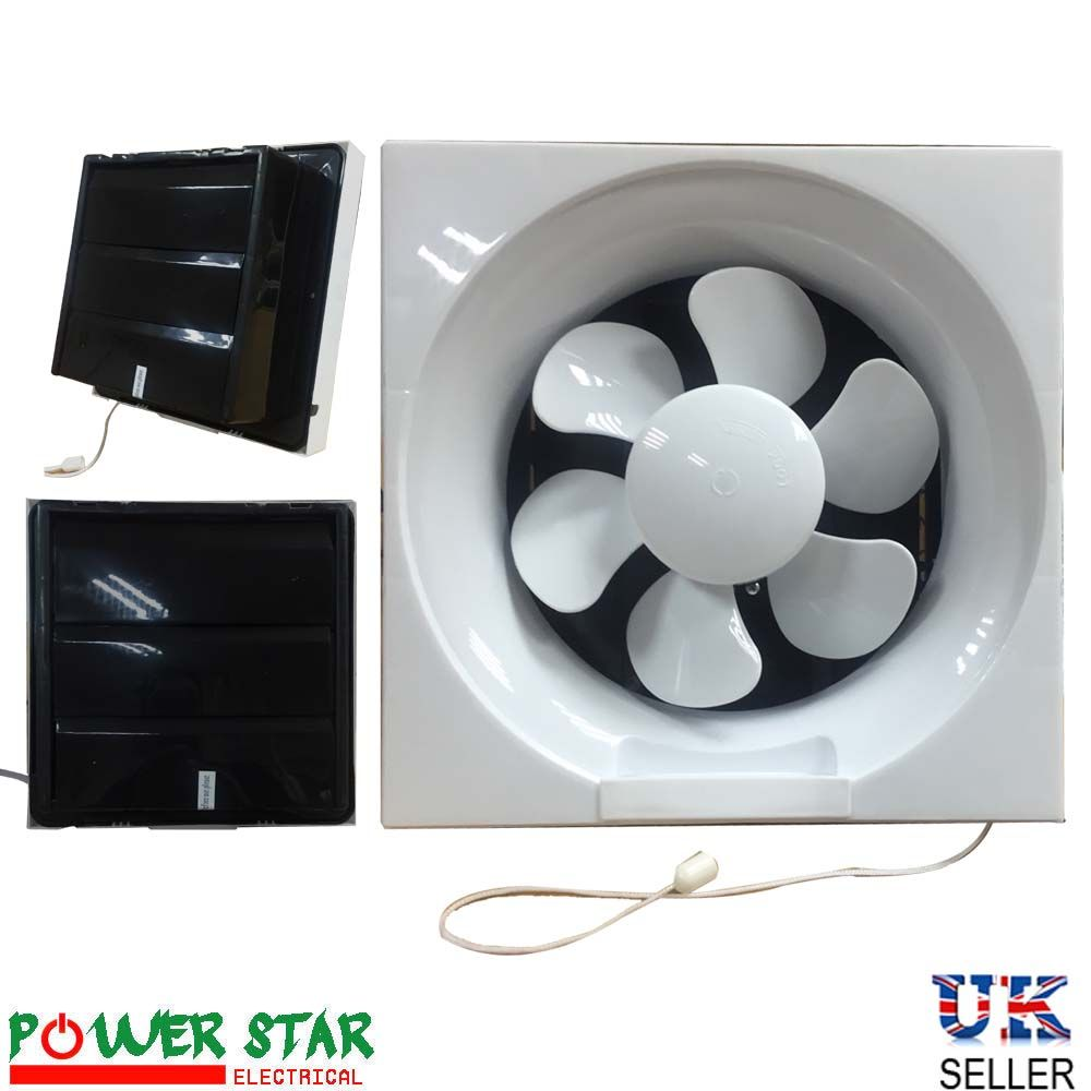 kitchen vent fan single sink powerful low noise reverseable bathroom ventilation extractor exhaust blower pull cord fans 8 200mm 10 250mm