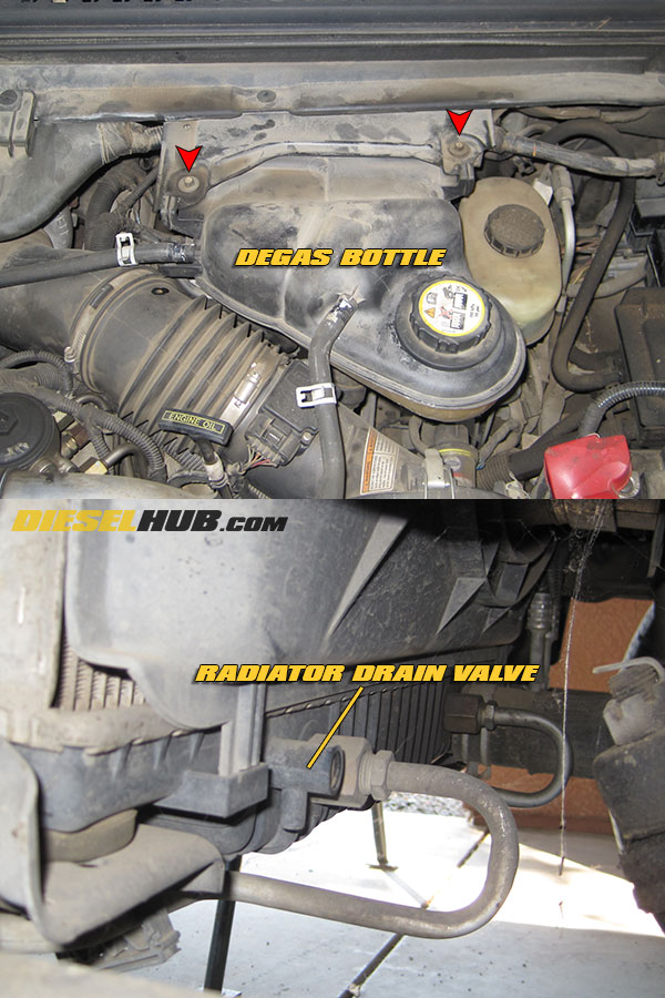 6.0 Powerstroke Cooling System Diagram : powerstroke, cooling, system, diagram, Power, Stroke, Turbocharger, Removal, Installation, Guide