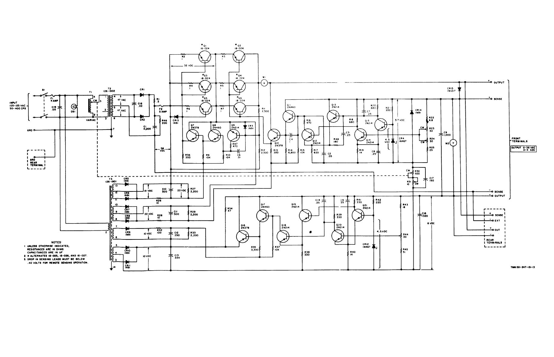 Figure 7 3 Power Supply Pp G Complete Schematic