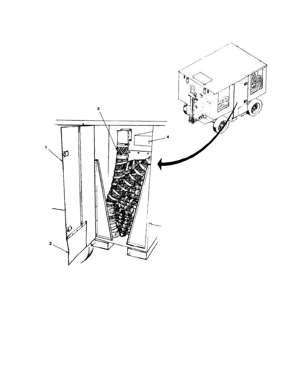 Figure 1-7. Pneumatic Hose Storage