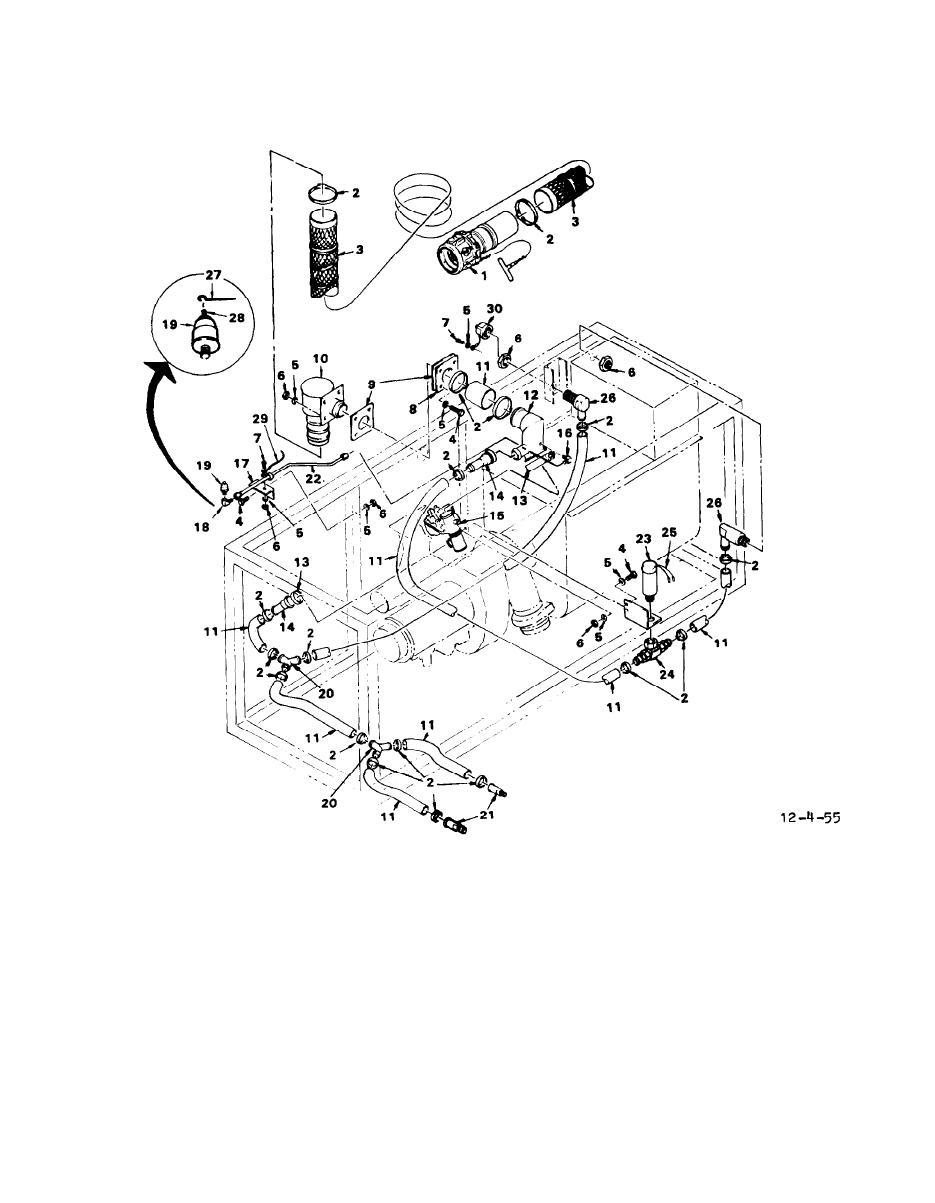 Figure 4-55. Pneumatic System