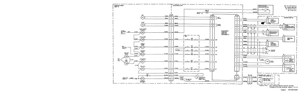 medium resolution of gas turbine engine control system schematic wiring diagram sheet 2 of 2