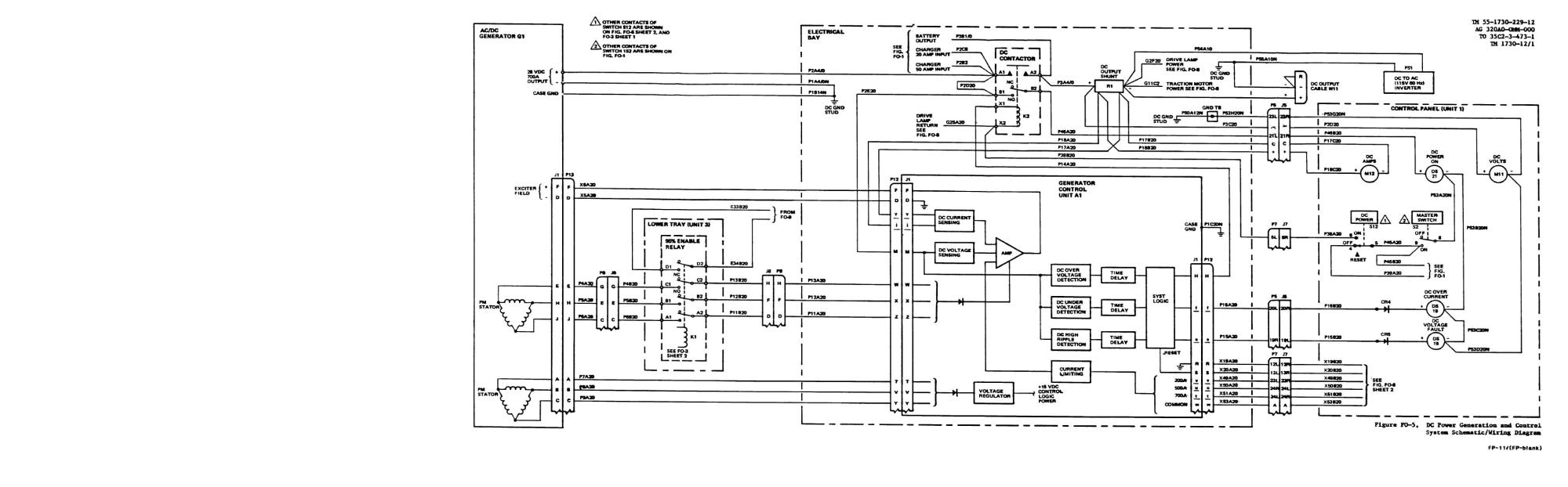 hight resolution of dc power generation and control system schematic wiring diagram