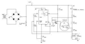 -15 V 1 A Regulated Power Supply