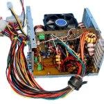 Built computer power supply