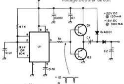 12V DC Voltage Doubler Circuit