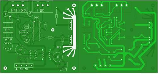 High Voltage PSU PCB