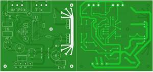 High Voltage PSU PCB