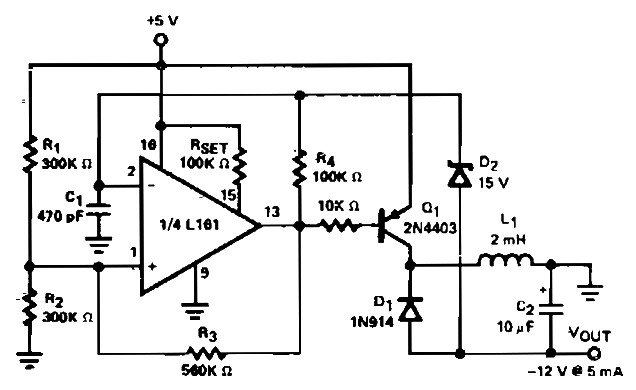D C Circuit Schematic Diagram. Function Block Diagram, One