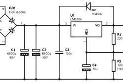 Single Output Power Supply 12V / 5A based on LM338