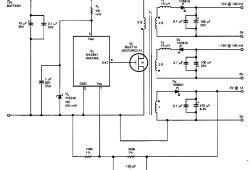 Bipolar +/- 15V and 5V from Car Battery supply
