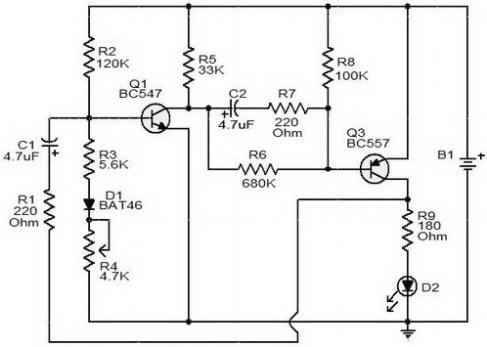 Fabulous Flashing Battery Monitor Power Supply Circuits Wiring 101 Ponolaxxcnl