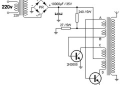 Converter 220V AC to 40kV AC