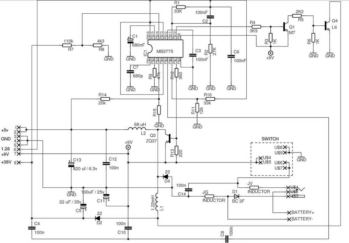 Sega power supply circuit