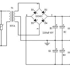 8 Ohm Wiring Diagram Honeywell Notifier Nfs 320 Simple Symmetrical Power Supply +25v -25v - Circuits