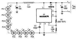 Photocell Power Supply Circuit