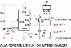 Lithium Ion Battery Charger using Solar Cell Power Source