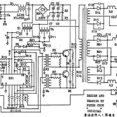 Atx 450w Smps Circuit Diagram Light Switch Wiring How To Repair Computer Power Supply Circuits Schematic