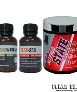 JD Nutraceuticals Power Stack Please select flavours and leave in notes at checkout Test 250 + Anabolic Warfare + Altered State