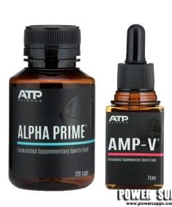 ATP Science ALPHA PRIME + AMP-V STACK  Prime + Amp-V