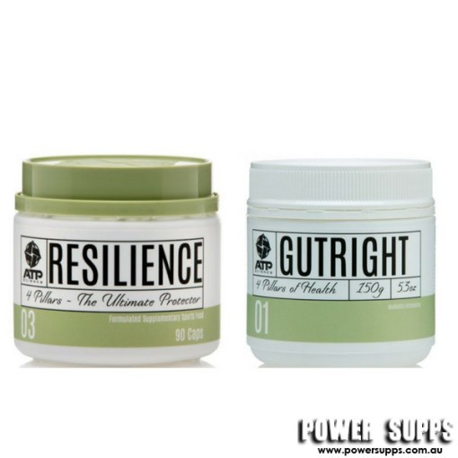 ATP Science  GUTRIGHT + RESILIENCE STACK  Gutright + Resilience