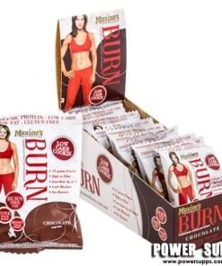 Maxine's Burn Protein Cookies Cookies and Cream 12 × 40g cookies