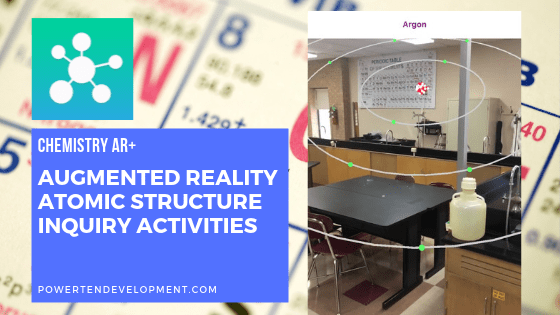 Augmented reality atomic structure inquiry Activities worksheets