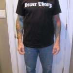 Power Theory Men's Logo Tee Front