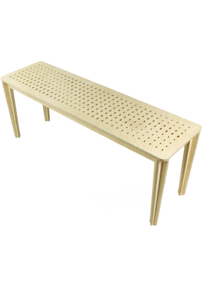 Cruciform Bench