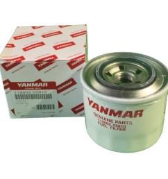 yanmar 119802 55810 119802 55801 fuel filter donaldson p550127 [ 1024 x 1024 Pixel ]
