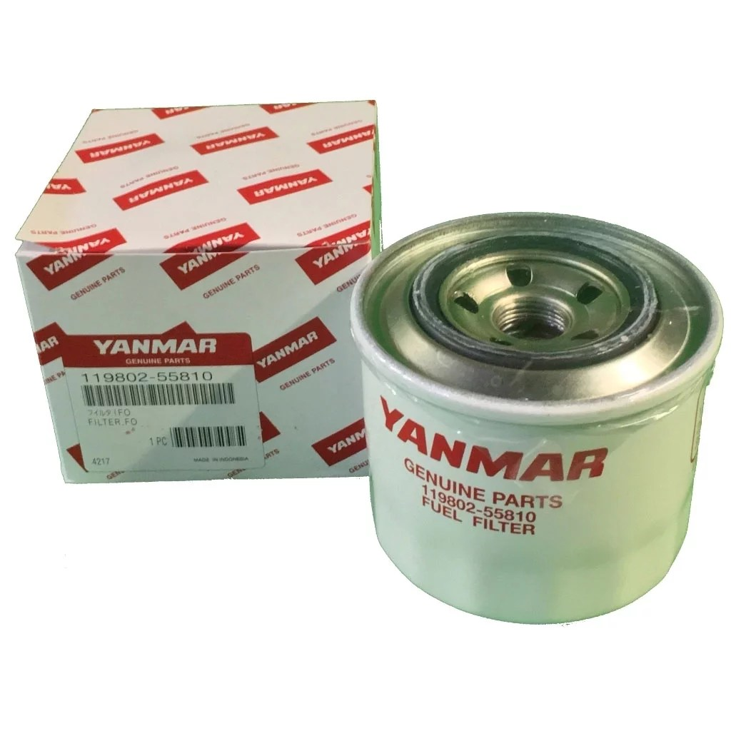 hight resolution of yanmar 119802 55810 119802 55801 fuel filter donaldson p550127